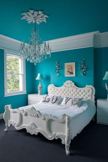 Blue Woman Bedroom Design