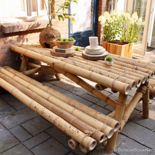 furnitur bambu