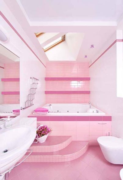 pink bathroom ideas