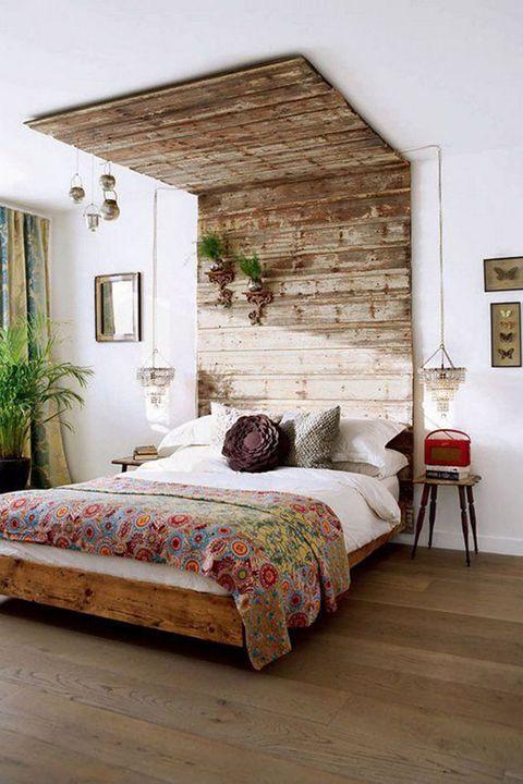 rustic women bedroom